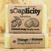 Solid Soap Bar: Sensitive-Soaps-Things of Nature