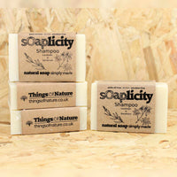 Solid Shampoo Bar: Lavender & Rose Geranium - Things of Nature
