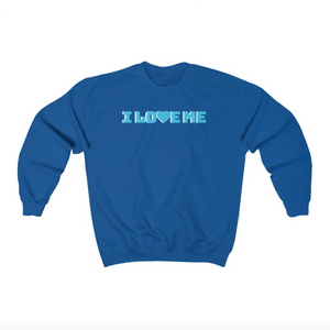 I Love Me Crewneck Sweatshirt