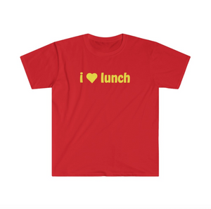I Love Lunch Tee