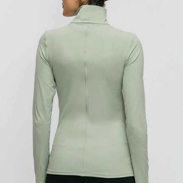 Connected Turtle Neck Long Sleeve - Zenrest Athletica