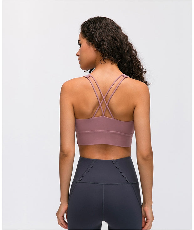 Electrify Double Strap Bra - Zenrest Athletica