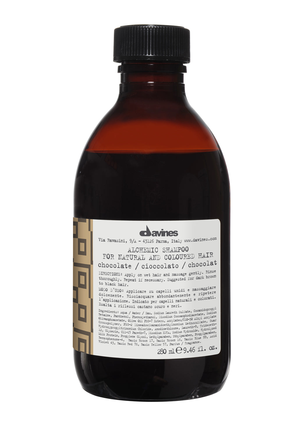 Alchemic Szampon Chocolate z Pigmentem 280ml