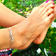 Personal Mantra Anklet