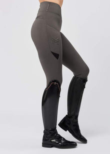 Tech Riding Leggings - Grey