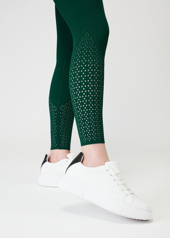 Sculpt Riding Leggings - Emerald
