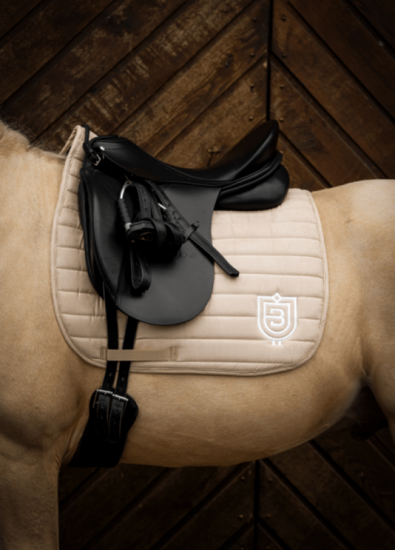 Bullet Saddle Pad - Beige