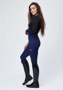 Sculpt Riding Leggings - Midnight