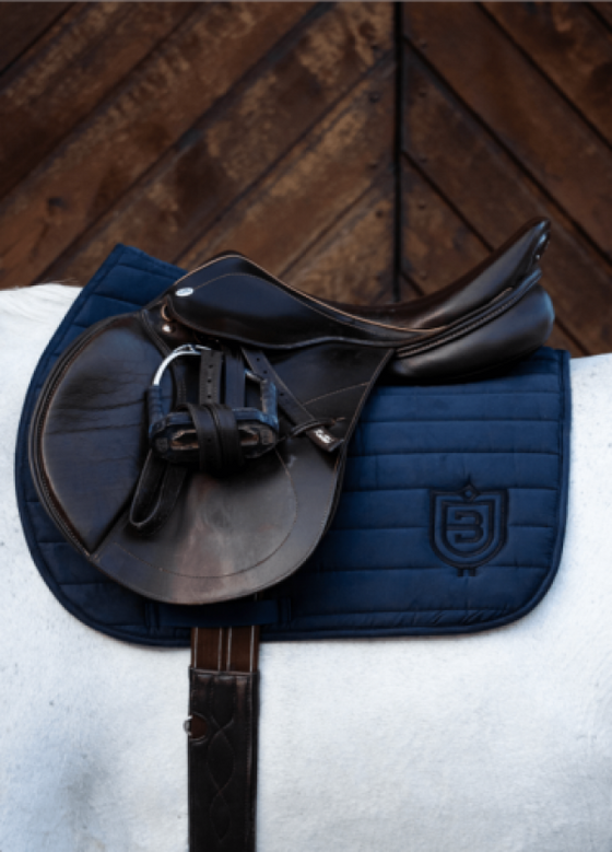 Bullet Saddle Pad - Navy