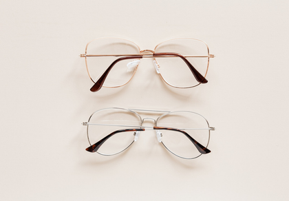buy metal square glasses online
