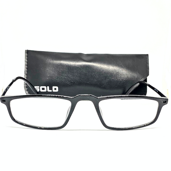 Gold Reading Glasses 777 - eyekart.org