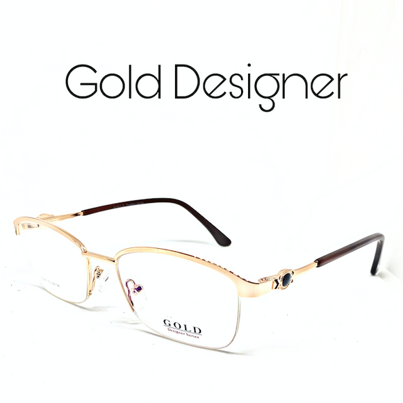 GOLD DESIGNER MODEL NO 891
