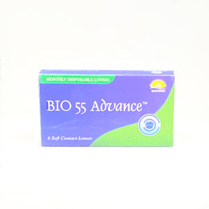 Bio 55 Monthly Disposable Spherical Lens