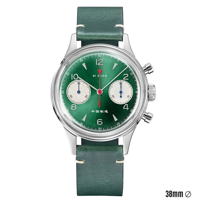 Seagull 1963 | Green Edition | 38mm | Acrylic | Sapphire