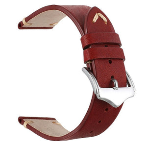 Red Leather Strap | 22mm