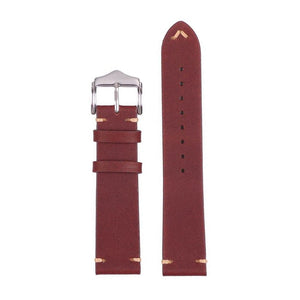 Hovini Red leather strap