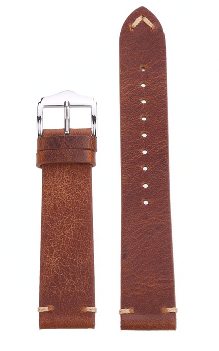 brown leather straps seagull hovini