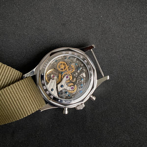 Seagull 1963 watch 40mm Sapphire Glass