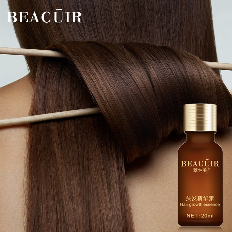 BEACUIR Hair Growth Essence Products Essential Oil Liquid New Fast Powerful Treatment Preventing Hair Loss Hair Care