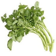 Watercress (Singapore) 西洋菜, 1 Bunch (~200 Grams)