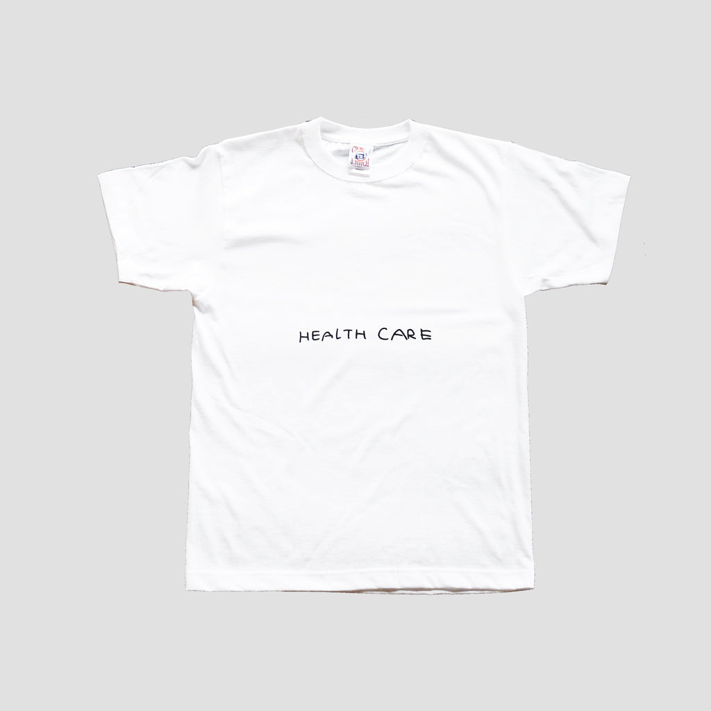 HEALTH CARE T-shirts SANDO×Masanao Hirayama