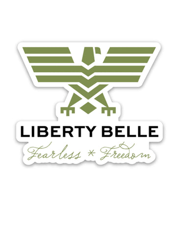Liberty Belle - Fearless * Freedom Sticker