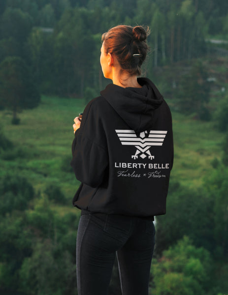 Freedom Is Essential, Black Hoodie