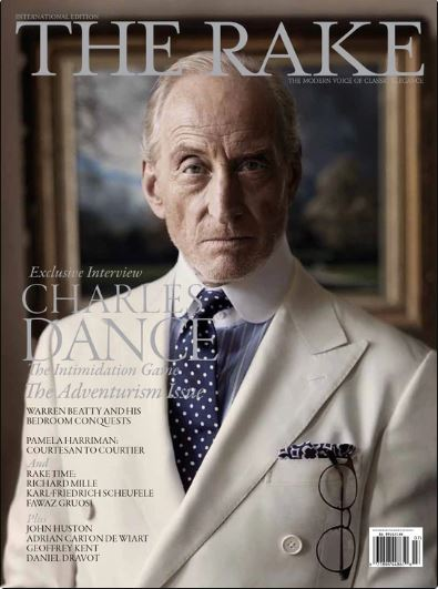 Charles Dance, Issue #40, The Rake - The Signet Store