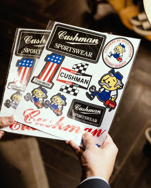 26210 | Sticker, Cushman - The Signet Store
