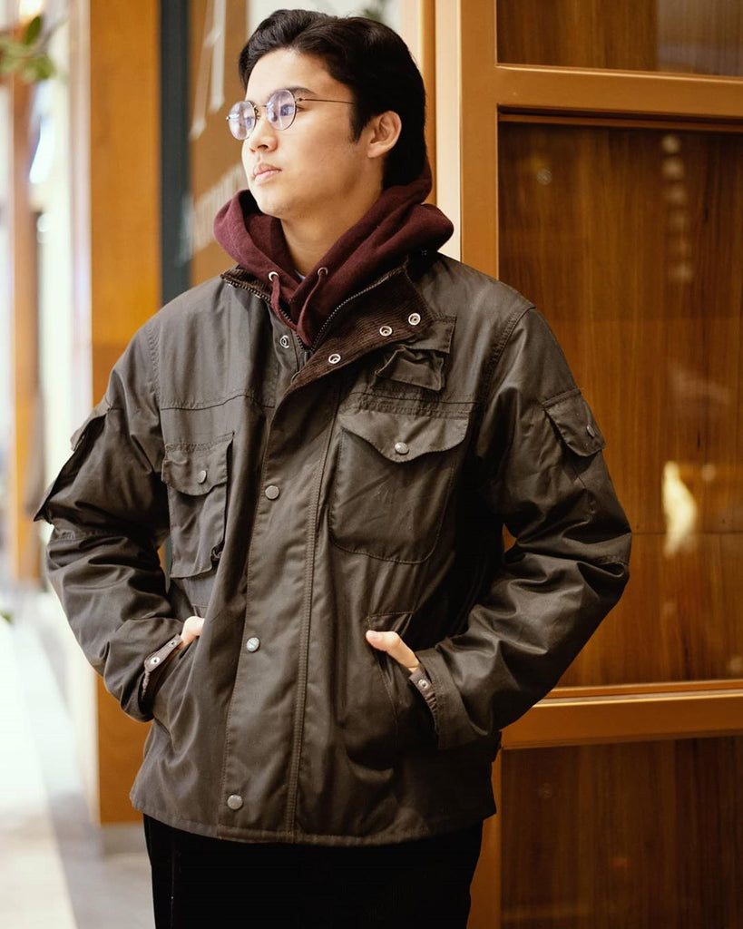 Engineered Garments + Barbour Cowen Jacket, Barbour - The Signet Store