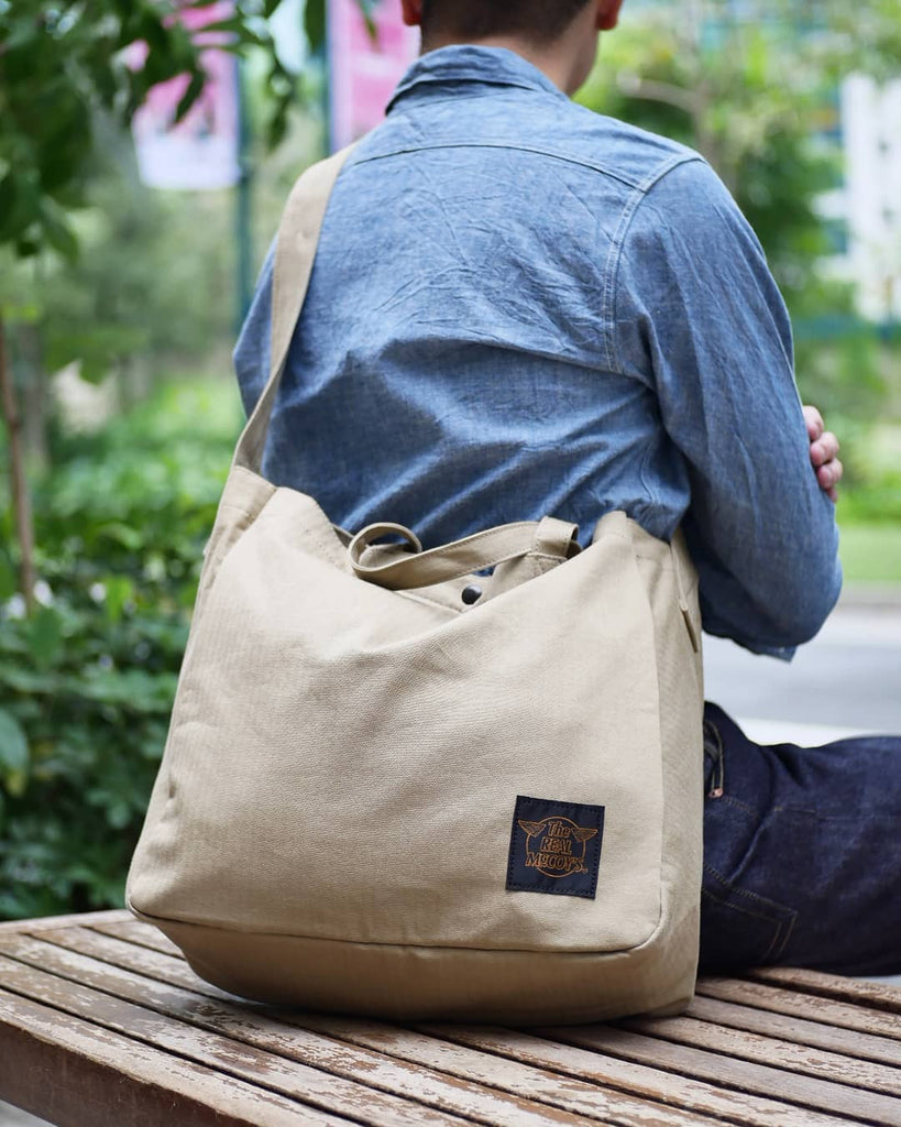 Real McCoy's Eco Shoulder Bag | MN19001, The Real McCoy's - The Signet Store