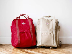 Open image in slideshow, Danton 2-Way Utility Canvas Backpack | JD-7071 SCV, Danton - The Signet Store