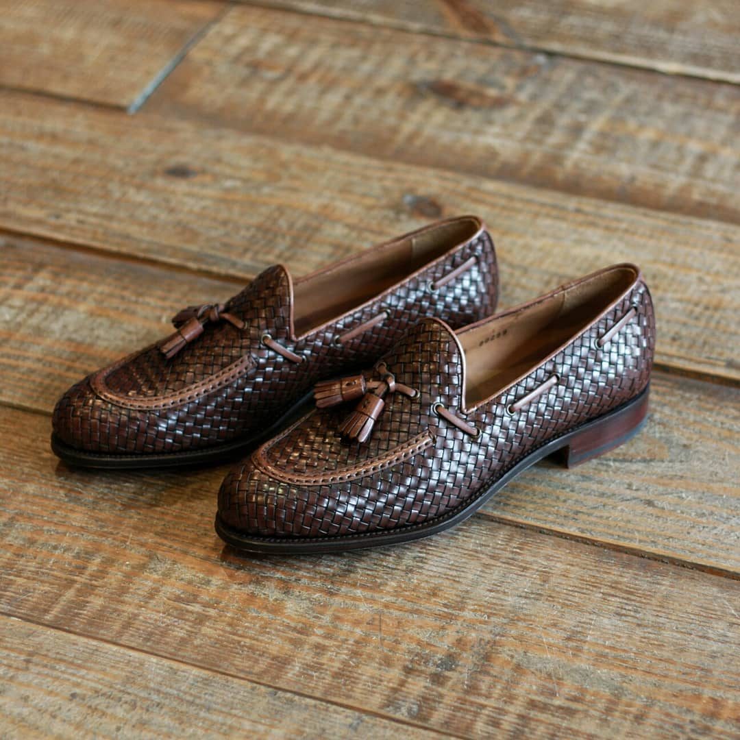 Braided Loafer w/ Tassel | 80299 | Forest Last, Carmina - The Signet Store
