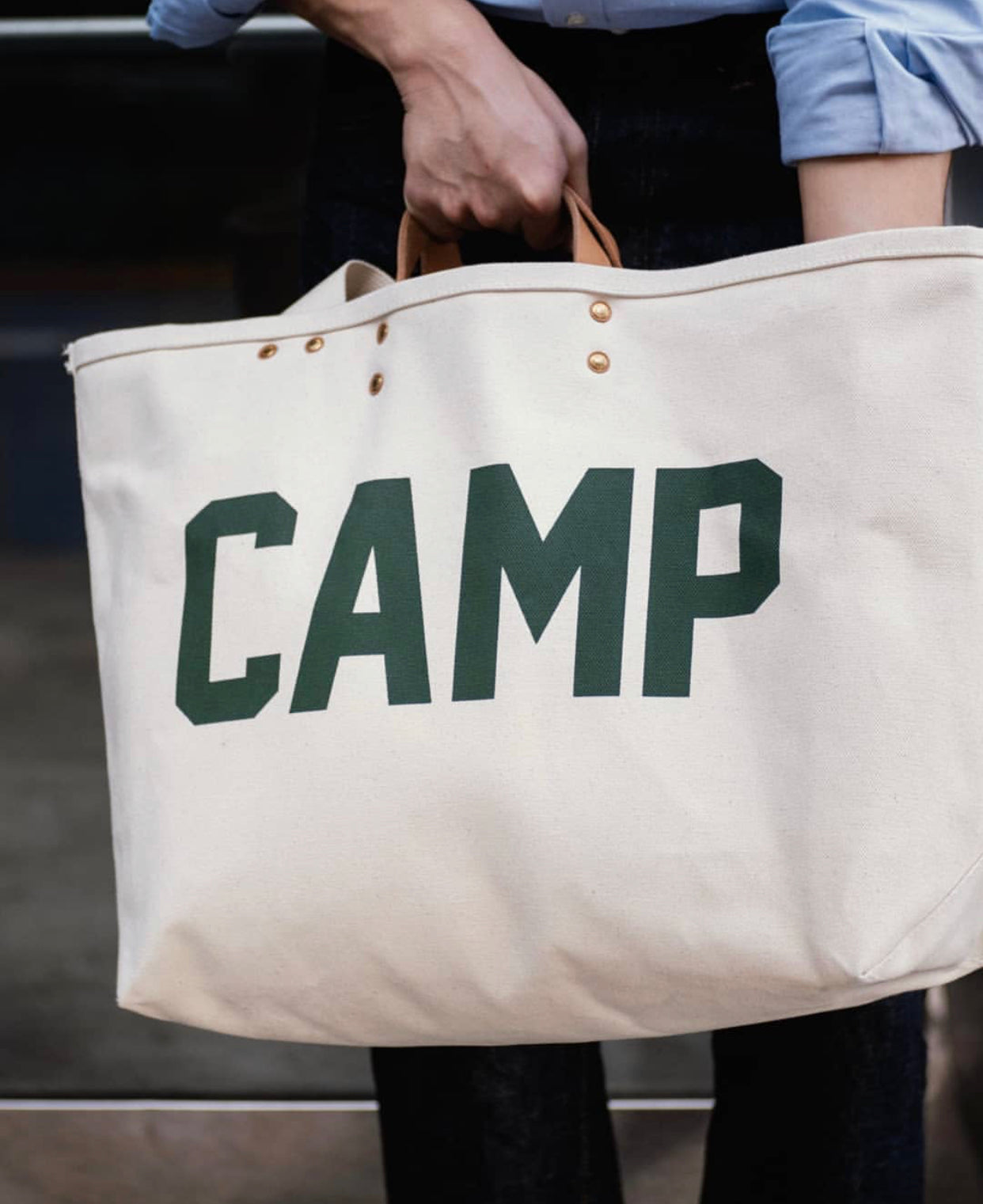 Camping Tote Bag | CUB005, The Superior Labor - The Signet Store