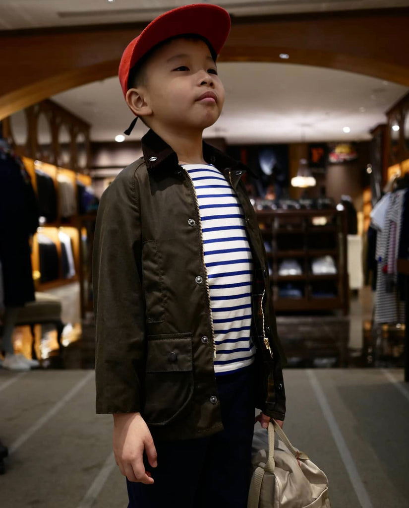 Classic Beaufort Kids, Barbour - The Signet Store