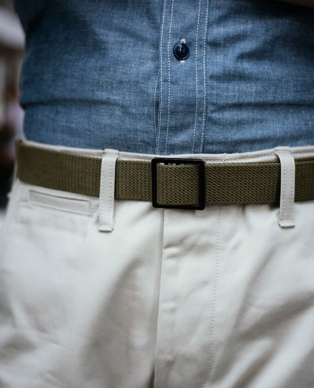 Military Web Belt | MA17011, The Real McCoy's - The Signet Store