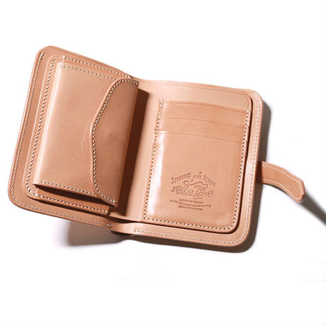 Harness Leather Middle Wallet | SL250, The Superior Labor - The Signet Store