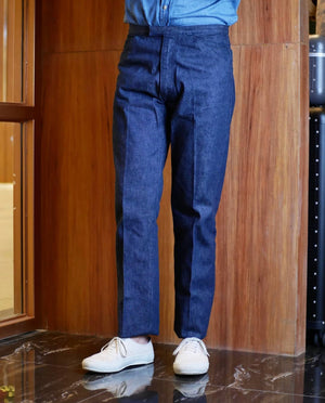 McQueen Pants Denim, Anatomica - The Signet Store