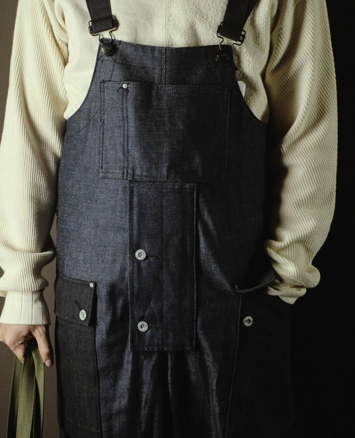 Naval Dungaree HB Denim, Nigel Cabourn - The Signet Store