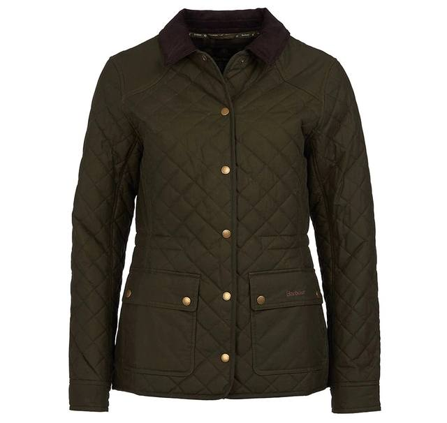 Penshaw Wax Quilted Jacket, Barbour - The Signet Store