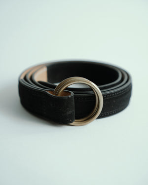 Open image in slideshow, Bronze Buckle, Suede Belt, Saic Firenze - The Signet Store