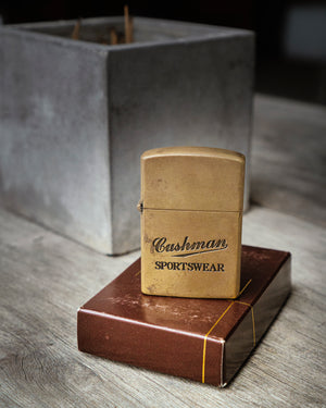 Brass Lighter, Cushman - The Signet Store