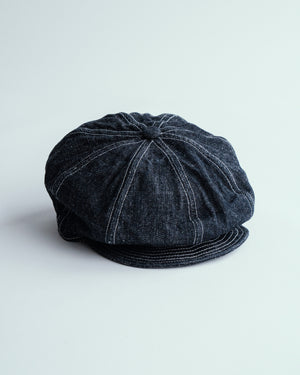 Dirt Denim News Boy Cap, Trophy - The Signet Store