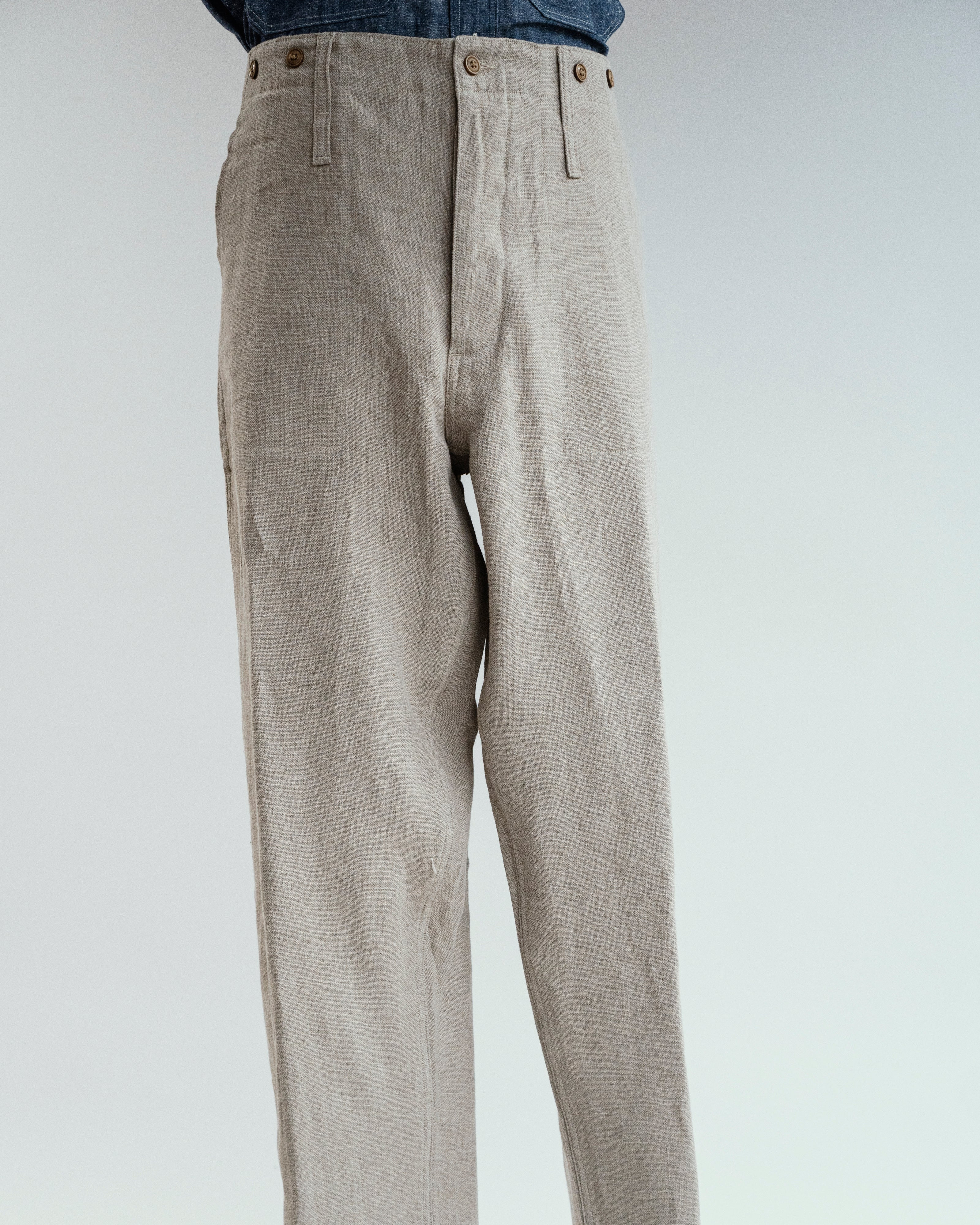 French Linen Work Pant, Nigel Cabourn - The Signet Store