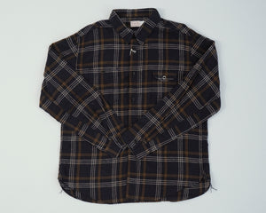 Machine Age Linen L/S Check Shirt