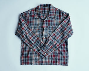 Open Collar Shirt | MB011, Muller & Bros. - The Signet Store