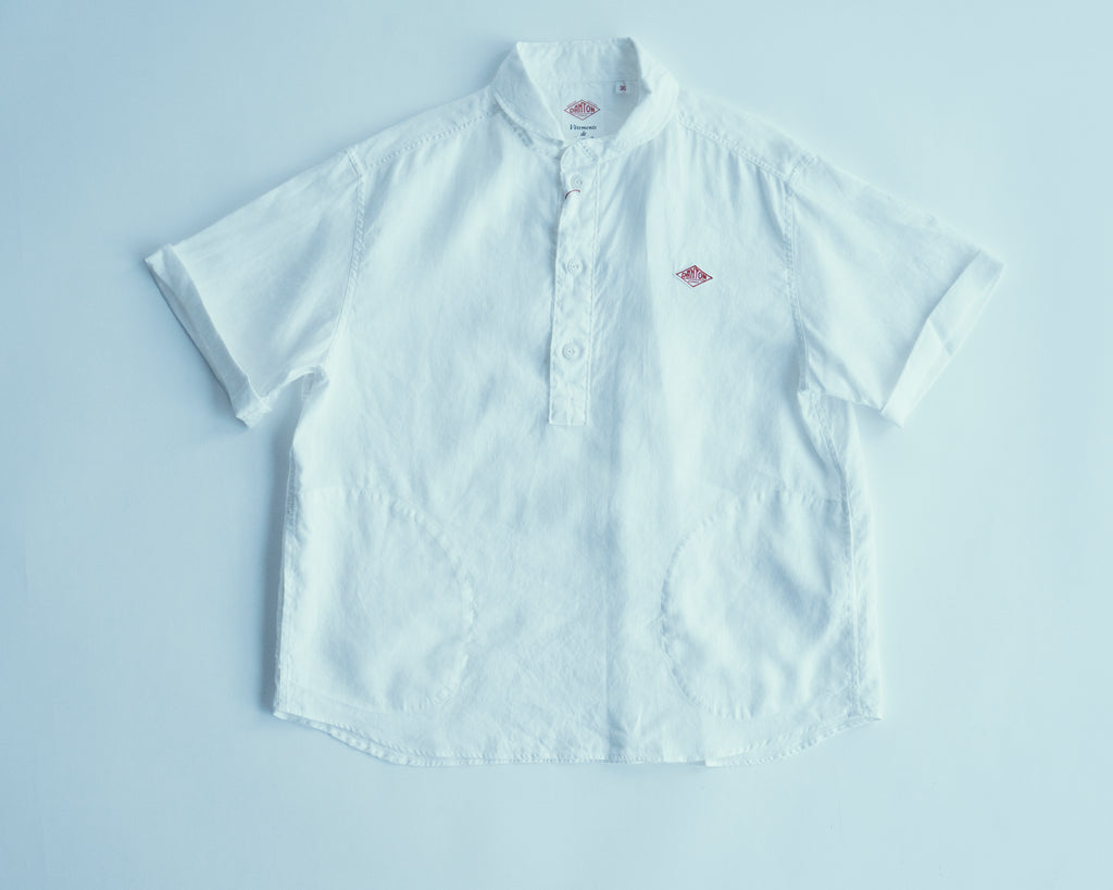 Linen Cloth Woven Shirt F | JD-3565-KLS, Danton - The Signet Store