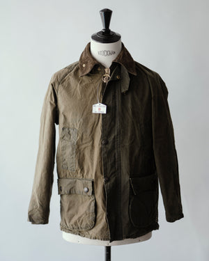Open image in slideshow, Recrafted Two-Tone Hunting Jacket | Barbour Bedale