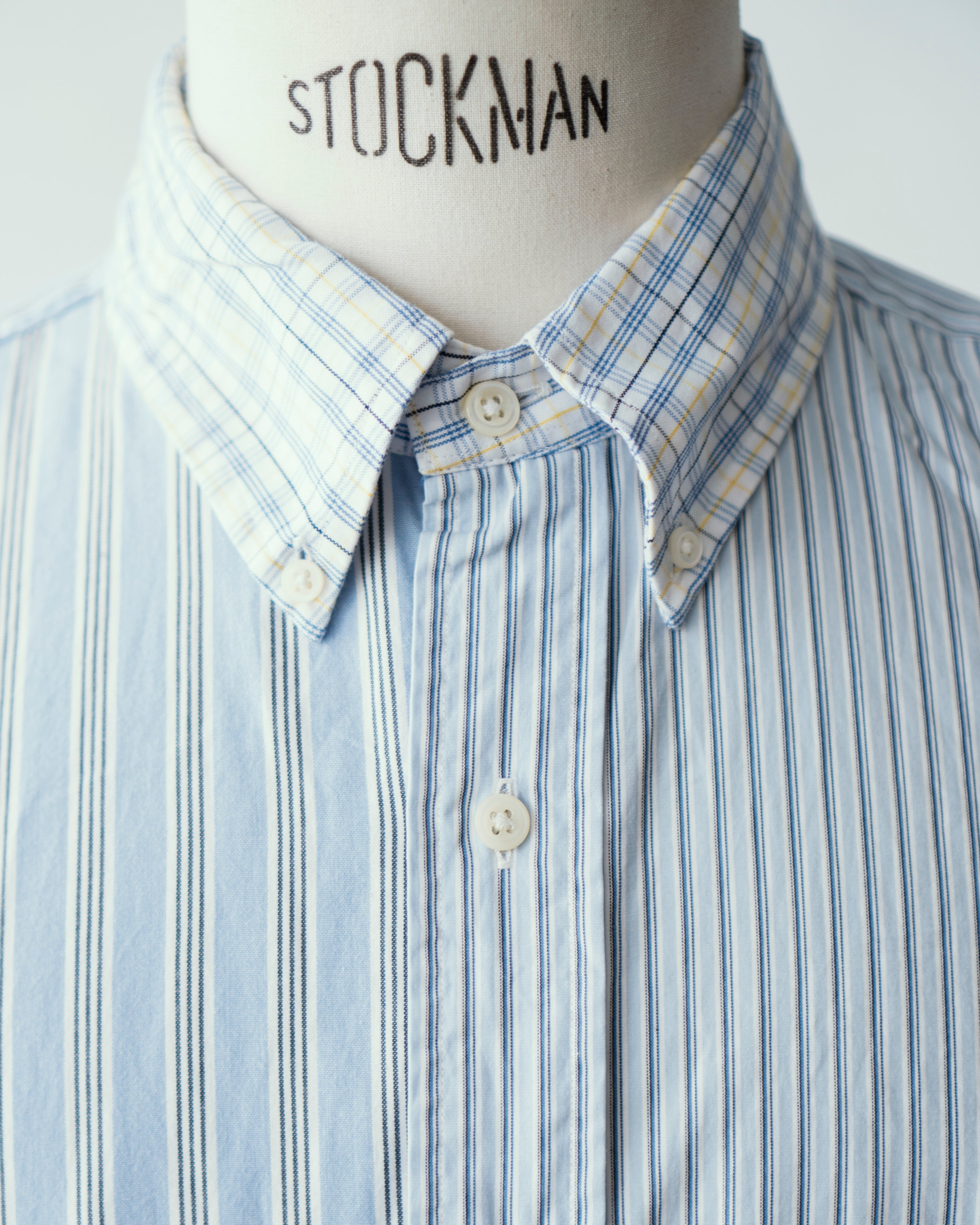 Trad Mixed Patchwork Button Down Shirts