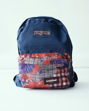 Open image in slideshow, Outdoor Mix Patchwork Backpack